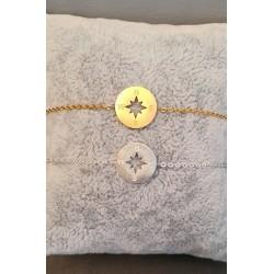 Bracelet en forme de boussole